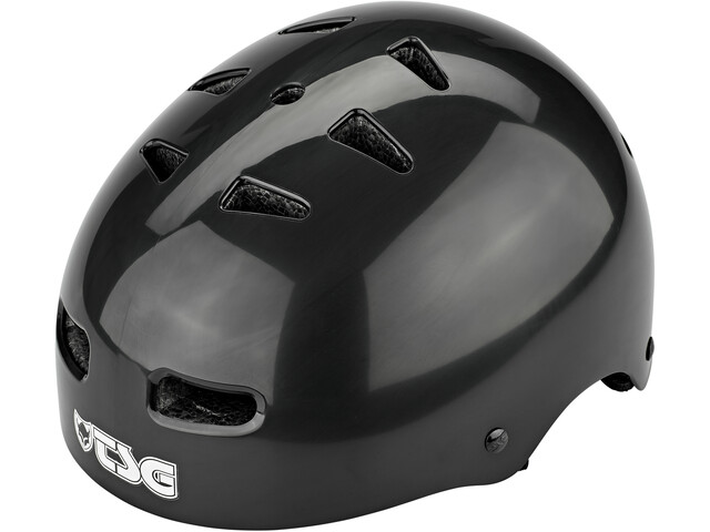 TSG Skate/BMX Injected Color Helmet Men injected black